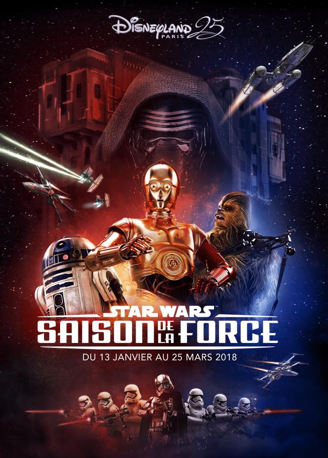 La saison préférée des fans de Star Wars fera son retour dans les parcs Disneyland !