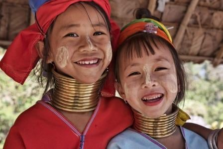 """Thailande """"long necks"""""""